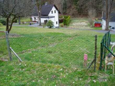 Sofort bebaubares Grundstück in Freudenberg - Niederheuslingen zu verkaufen