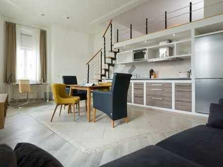 hochwertiges möbliertes Galerie Apartment Nähe TU/Max PLank Institut/HBF N39/22