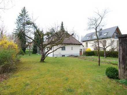 Villenkolonie Großhadern, ruhig gelegenes Grundstück 890m² mit EFH (Abriss)