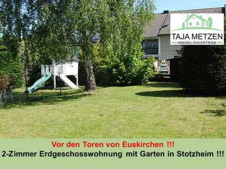 Vor den Toren von Euskirchen !!! 2-Zimmer Erdgeschosswohnung mit Garten in Stotzheim !!!