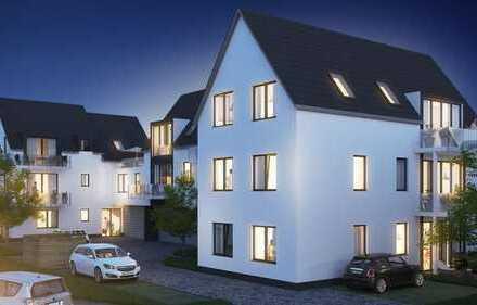 Erstbezug mit Einbauküche und Terrasse: freundliche 3-Zimmer-Wohnung in Weisenheim am Sand