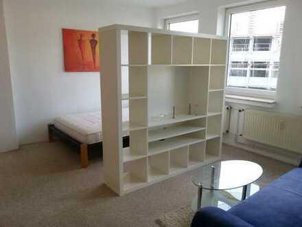Komplett möblierte 1 Zimmerwohnung, nahe Hochschule/Innenstadt