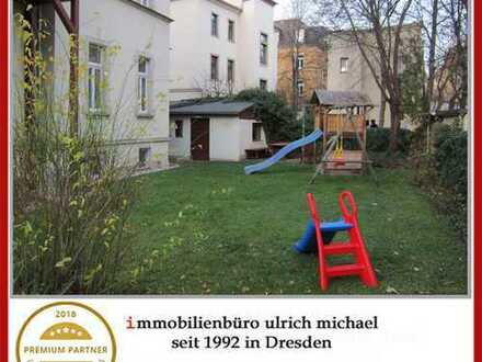 * Familienfreundliche Wohnung im san. Altbau ~ 4 Zi. ~ 2 Balkone ~ Garten *