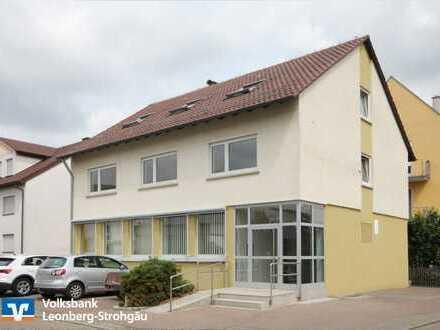 * Gewerbefläche in Wohn- und Geschäftshaus in Rutesheim-Perouse! *