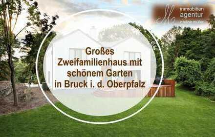 Großes Zweifamilienhaus mit schönem Garten in ruhiger Ortsrandlage