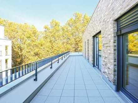 Traumhaft schöne Penthousewohnung mitten im urbanen Leben von Bilk - Neubau-Erstbezug