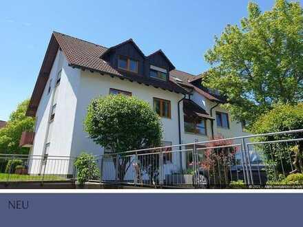 Satteldorf Helle 3,5 Zimmer Wohnung im DG zu vermieten.