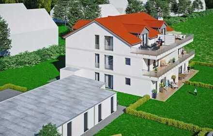 Moderne / hochwertige barrierefreie Dachgeschosswohnung mit großer Dachterrasse (Neubau)