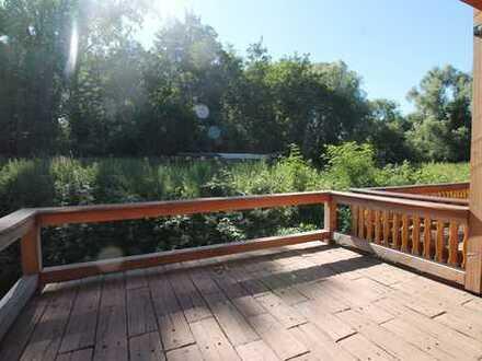 Natur pur - Holzhaus in außergewöhnlichem Wohnumfeld!!!
