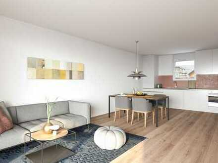 Schöne Wohnung mit eigenem Garten (B02)