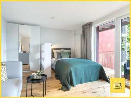 Perfekt geschnittenes 1-Zimmerapartment mit Balkon in Eppendorf