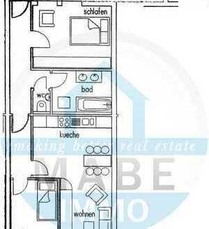 Im Zentrum gelegene 3 Raumwohnung mit Balkon