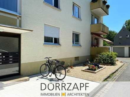 Landau: schöne EG-Wohnung mit Mansardenzimmer und Garage
