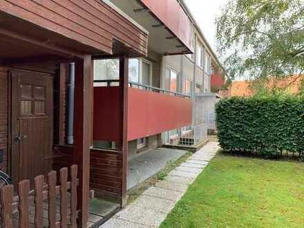 Eine Seltenheit in Otterndorf! 4-Zi. Wohnung mit Balkon und kl. Gartengrundstück.