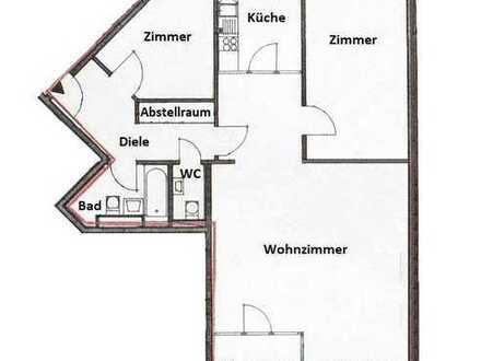 Neuss-Zentrum - großzügige 3 Zimmerwohnung mit Aufzug, Wintergarten, TG-Stellplatz --Bilder folgen--