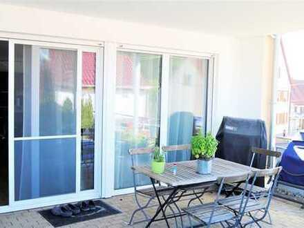 Sonnige 4- Zimmer Wohnung mit Gartenanteil