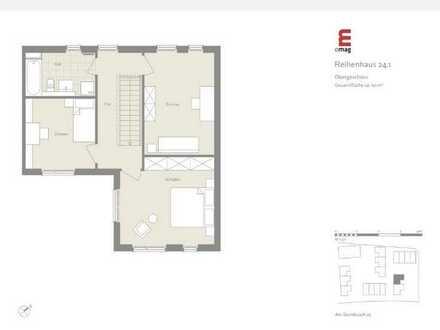 Neuwertiges Haus mit vier Zimmern und Einbauküche in Langen