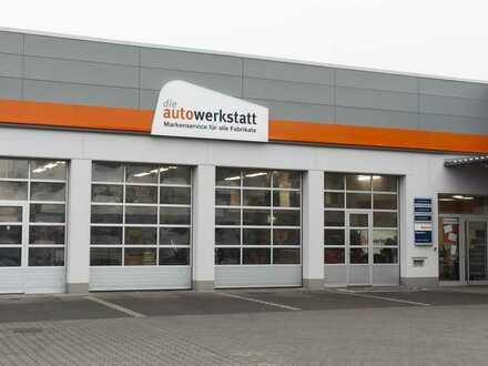 Neue KFZ-Werkstatt am V-Markt - Neubau bei Tankstelle/Waschstraße