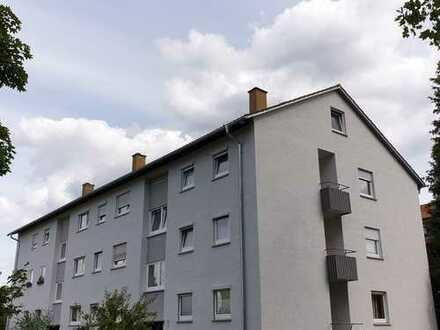 Gepflegte, nett geschnittene 4-Zimmerwohnung mit Südbalkon in ruhiger Lage (Fuchshofsiedlung)