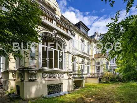 Großzügige Zwillings-Stadtvilla in beliebter Lage – HH-Ottensen