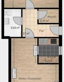 Schöne 2-Zimmer Einliegerwohnung in Frei-Laubersheim