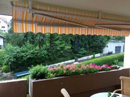 Gut geschnittene 3-Zimmer-Wohnung mit Balkon und Einbauküche in Esslingen Sulzgries