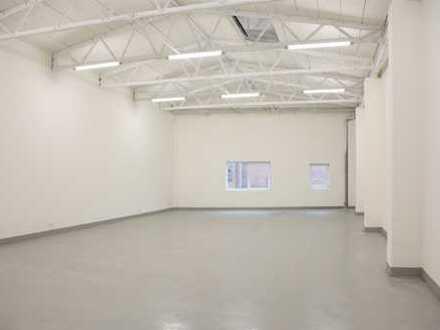 Hochwertig sanierte Hallen versch. Größe, Aufteilung 100 - 200m²