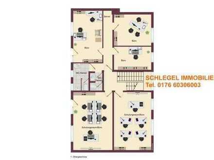 Nähe IKEA: 12 Büroräume mit Garage/Lager