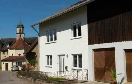 Schönes Einfamilienhaus mit Garten u. Garage für Fam. bis 2 Kinder in Göggingen-Horn zu vermieten