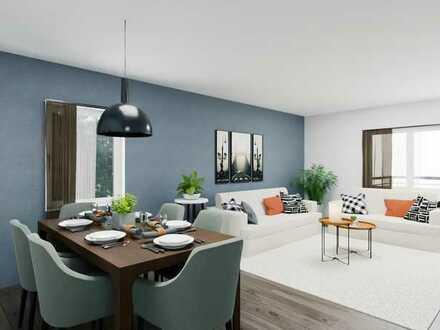 **OHNE KÄUFERPROVISION** Neue Kernsanierte 3,5 Zimmer Wohnung mit 270 qm großem Garten