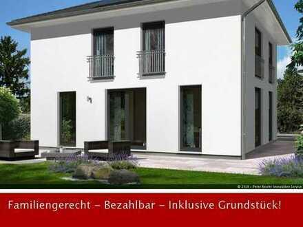 MODERNE STADTVILLA MIT 152 m² WOHNFLÄCHE UND ZWEI VOLLGESCHOSSEN