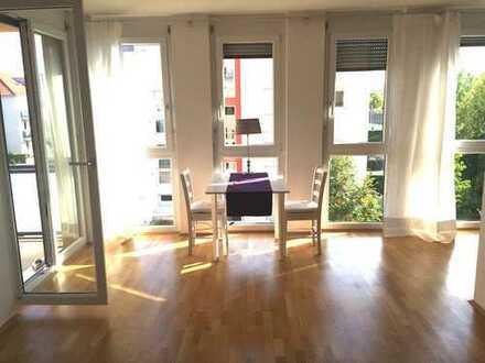 Sonnige 2-Zimmer Wohnung mit Grünblick, Trudering