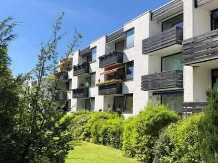 Renovierte 3-Zimmer-Wohnung im Grünen