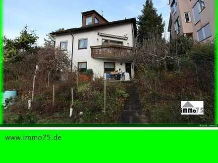 Doppelhaushälfte mit Garten, 2 Garagen und toller Aussicht