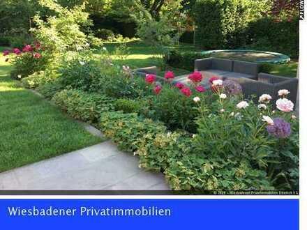Rarität - wunderschöne Villa mit großzügigem Garten in Wiesbaden