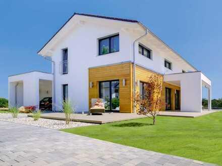 *Unser Meisterstück* Neubau Einfamilienhaus mit schönem Grundstück, Keller und Aktionsküche