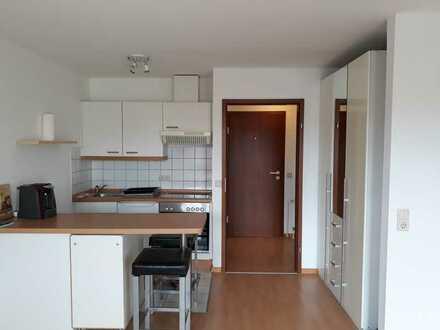 1-Zimmer-Wohnung mit Balkon und EBK in Stuttgart vollmöbliert