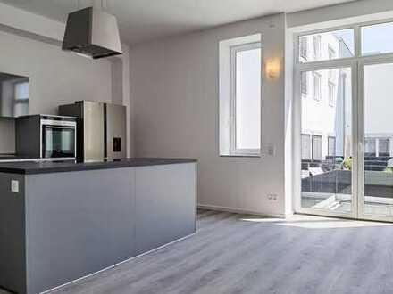 Ausgebautes Loft mit SmartHome, Sonnen-Terrasse und offener Küche - fertig zum Bezug!