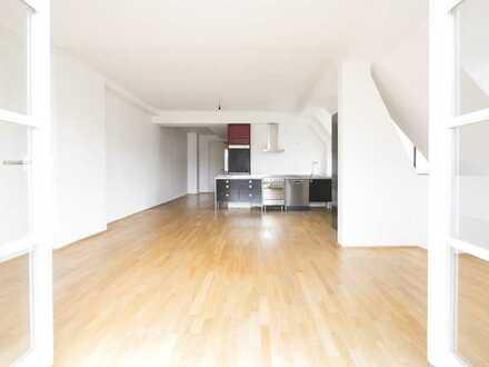 Türe schließen und durchatmen! 3-4 Zi.-Dachgeschoss Wohnung! Geniale Raumaufteilung! S/W-Balkon