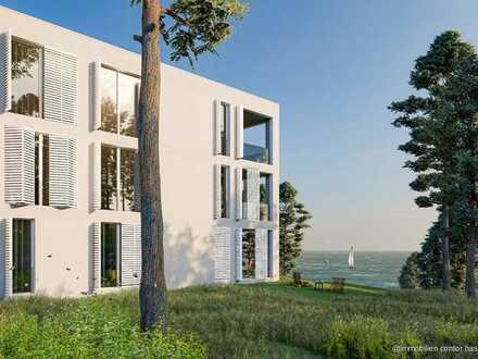 Exklusive Wohnungen in idyllischer Lage und mit Blick aufs Wasser