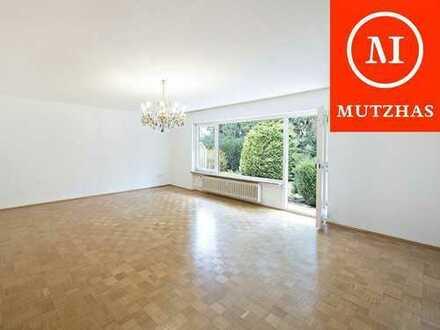 MUTZHAS - Helle 2-Zimmer Erdgeschosswohnung mit Gartenanteil