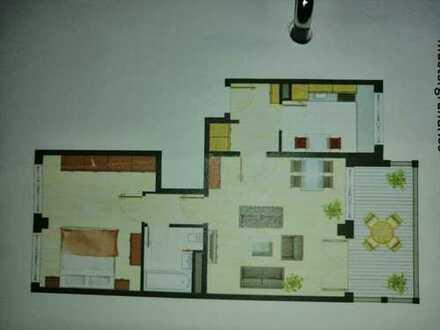 Stilvolle 2-Zimmer-Wohnung mit Balkon und Einbauküche in Perlach, München