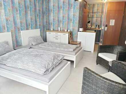 1-Zimmer-Wohnung mit Balkon in 4 Sterne Hotel