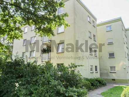 Gemütlich und gut angebunden: 3-Zi.-ETW mit Balkon in ruhiger Wohnlage!