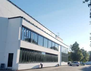 """BAUMÜLLER & CO."" 2.000 qm Lagerhalle + 1.000 qm Büro Nähe Mannheim"
