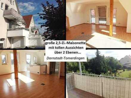 PREISSTURZ!... Groß-Toll-Hell-Sonnig... Maisonette in Dornstadt-Tomerdingen