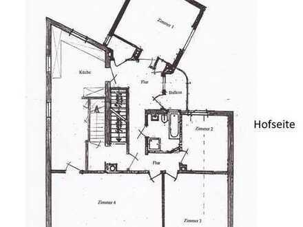 Geräumige 4 Zimmer Wohnung , in Mörfelden Stadtmitte