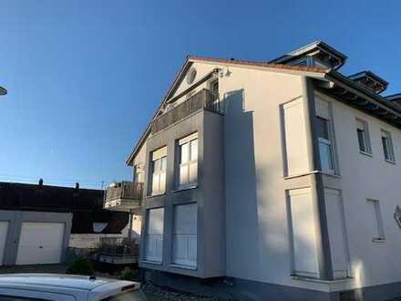 Schöne, ruhige zwei Zimmer Wohnung in Karlsruhe, Neureut komplett möbiliert