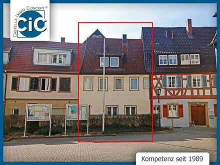 Modernisierungsbedürftiges EFH in Innenstadtlage mit Scheunenanteil & Kfz-Stellplatz
