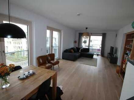 NU-Donaulage 2-Zi-Wohnung mit großer Terrasse und EBK